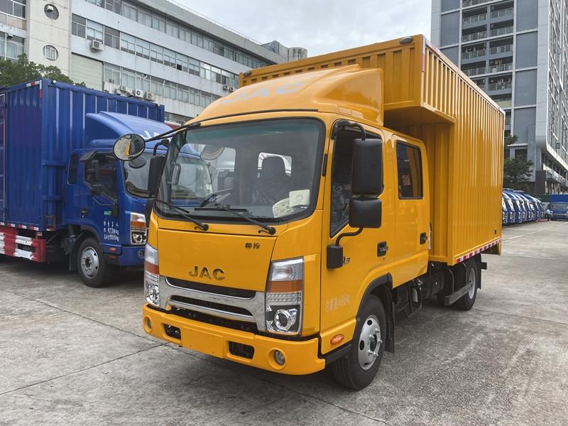 江淮 帅铃Q3 130马力 3.37米双排载货车